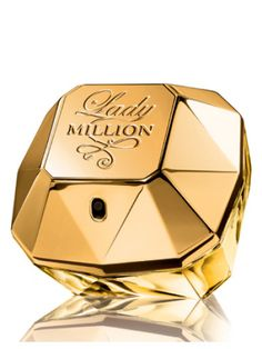 Perfumes for women - Lady MILLION Eau de Parfum Spray by Paco Rabanne - While insinuating luxury and wealth, the fragrance prepares a surprising composition of One Million Perfume, Lady Million Perfume, Perfume Black Xs, La Rive Cash, Perfume Fantasy, Paco Rabanne Lady Million, Hypnotic Poison, Vintage Perfume Bottles, Lotions