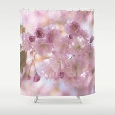 Cherryblossoms 桜  Shower Curtain