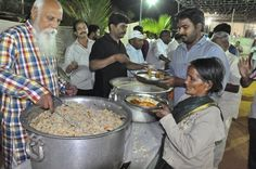 """The """"Nitya Anna Dāna Seva"""" program aims to offer two #free #meals a day to every needy #meditator at Pyramid Valley International.  """"#Daana for #Dhyana is the Highest Possible Dana ~ Brahmarshi #Patriji""""  Your generous contributions to the program can help the meditators to be free from thinking of basic bodily needs when they are in Pyramid Valley International.  Click here for your contribution : http://pyramidvalley.org  #annadana #pvi #TheNewShambala #PyramidValley"""