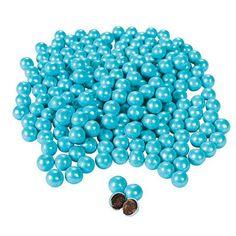 Shimmer Powder Blue Chocolate Balls