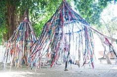 hula hoop loom | finger knitting a tent growing up creative