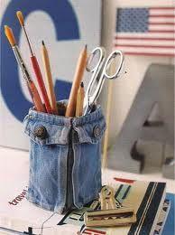 Ideas para Reutilizar tus jeans viejos... - Taringa!