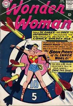 Silver Age Comics: Wonder Woman of the Golden Age Dc Comics, Star Comics, Wonder Woman Comic, Wonder Women, Comic Book Covers, Comic Books, Comic Art, Secret Age, Earth Two