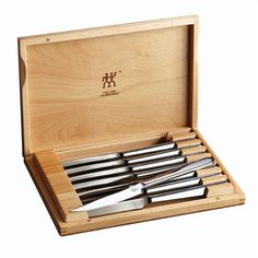 Zwilling 8 Piece Steak Knife Set with Presentation Case - 39130-850