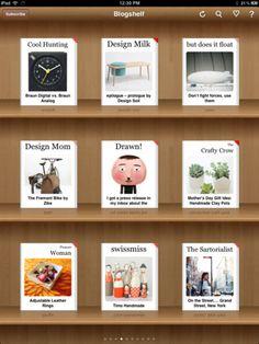 Blogshelf II -- my new RSS reader.  You can read more here:  http://projectsbyjen.com/blog/?p=2793