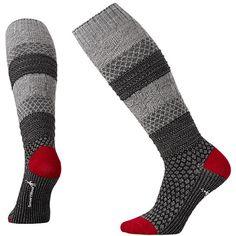Women's Popcorn Cable Knee High Socks