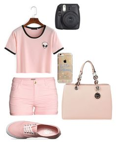 """""""Untitled #91"""" by madriz-soamdi on Polyvore featuring H&M, Vans, MICHAEL Michael Kors and Agent 18"""