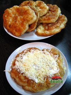 Langosi (Langosi 0)   imagine reteta French Toast, Recipies, Pizza, Breakfast, Desserts, Food, Ideas, Sweets, Recipes