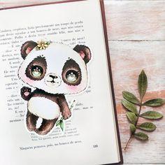 Pandora-Chan Bookmark (◕ᴥ◕) Kawaii Panda - Making Life Cuter