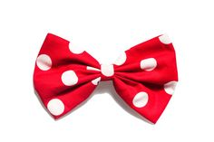 Mini Mouse Red and White Polka Dot Bow by BiancaParisTaylor