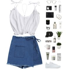 Wrap skirt by f-resh on Polyvore featuring polyvore, fashion, style, adidas Originals, Yves Saint Laurent, Gucci, Burcu Okut, Dinny Hall, Recover and Linda Farrow