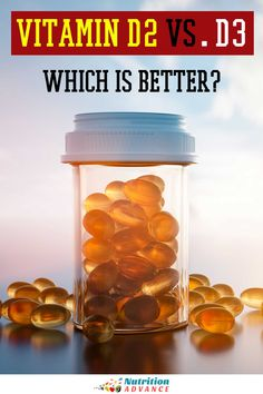 There are two main forms of vitamin D - vitamin D2 and D3. Which is better for bioavailability and effectiveness? Here's an evidence-based guide. #vitamins #nutrition #supplements Nutrition Articles, Health Articles, Vitamin D Insufficiency, Hip Fracture, Vitamin D2, Randomized Controlled Trial, Higher Dose, Chronic Kidney Disease, Different Recipes