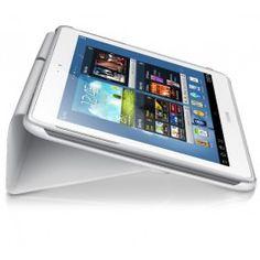 Protéger votre tablette Galaxy Note avec cet étui à rabat. Cet étui sert aussi de support pour votre appareil.