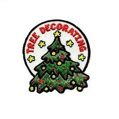 If your Girl Scouts are having a tree decorating contest or just decorating one for fun remember the fun had by all with this Christmas tree shaped fun patch. Available at MakingFriends.com