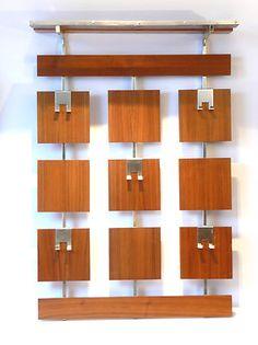 Original 1970s Teak Coat Rack Danish Modern Mid Century Wegner Atomic 60s Era | eBay