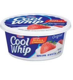 South Suburban Savings: RARE New Coupon: $1/2 Cool Whip