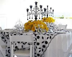 32 Best Black White Yellow Party Theme Images Dream Wedding Ideas
