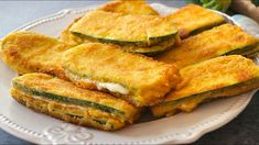 San jacobos de calabacín (zucchini). Te pedirán repetir una y otra vez - YouTube Cooking Time, Cooking Recipes, Spanish Dishes, Canapes, Zucchini, Side Dishes, Good Food, Veggies, Appetizers