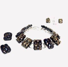 Fused Glass Jewelry, Charmed, Bracelets, Fashion, Moda, Fashion Styles, Bracelet, Fashion Illustrations, Bangles