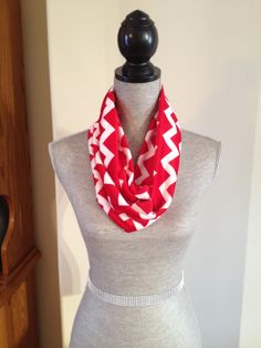 Chevron Microfleece Infinity Scarf in Red: $15.00   This scarf is made from a microfleece that feels very light and soft against your skin. Your Skin, Chevron, Infinity, Feels, High Neck Dress, Red, Dresses, Fashion, Turtleneck Dress