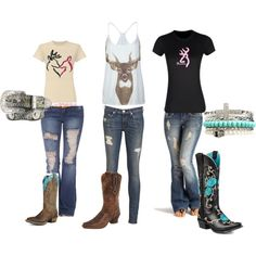 Untitled #30 by backwoodsbarbie317 on Polyvore ~~country fashion~~