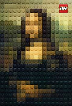 Lego riproduce i quadri famosi con i suoi mattoncini #marketing #adv #arte #creativo
