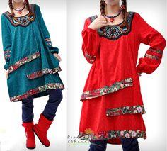 China Doll Dress/Long Blouse - Boho style