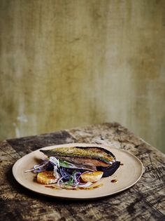 Pomegranate Glazed Mackerel with Satsuma & Fennel Salad