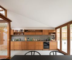 Minimalist Interior, Minimalist Living, Dark Gray Backsplash, Georgian Buildings, Internal Courtyard, Small Courtyards, Roof Covering, House Extensions, Kitchens