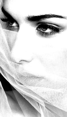 Veil black-and-white