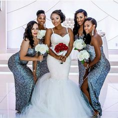 I Do Ghana | Gorgeous wedding party | Congrats to Mrs. Webster