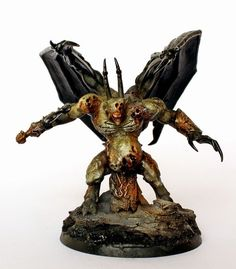 Showcase: My own Chaos Daemon Princes of Nurgle - Tale of Painters