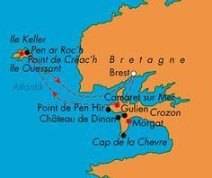 Wanderurlaub Bretagne | Wanderrreisen | Frankreich | Bretagne ... Ile de Ouessant, viel Natur- Serie über einen Imker im Fernsehen.
