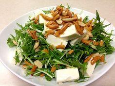 シンプルだけど、美味しい - 28件のもぐもぐ - 水菜ととうふのサラダ by y1102k