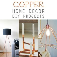 DIY Copper Home Decor Projects