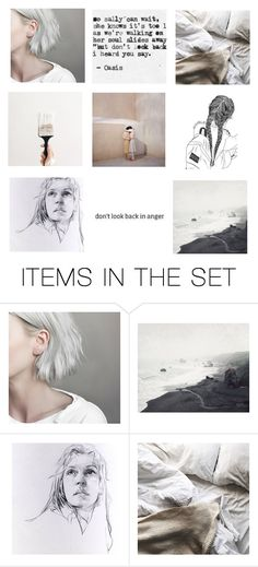 """don't look back in anger"" by annalisa-niamhj ❤ liked on Polyvore featuring art"