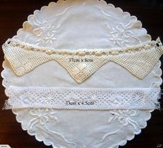 Old Crochet, beads, and lace | Trade Me