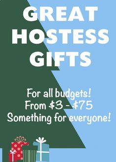Looking for some great hostess or host gifts? This selection has it all!