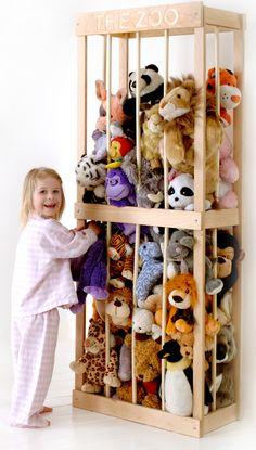 Stuffed Animal Storage Zoo Image