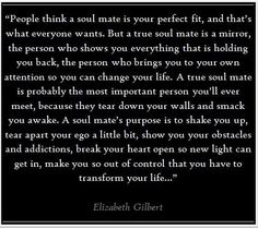 I love Liz Gilbert.  She's a. Old soul with a lot of wisdom.