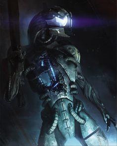 Mass Effect Concept - Legion