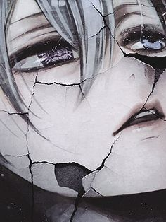 """""""His face breaks into pieces , the mask is busted ."""" - Ciel Phantomhive - Kuroshitsuji / Black Butler"""