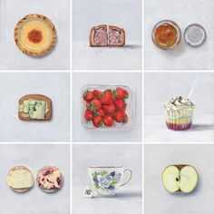 Joel Penkman Food Paintings   Trendland: Fashion Blog & Trend Magazine