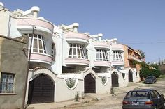 Recently built residential buildings - Tab'ah Asmara Eritrea.