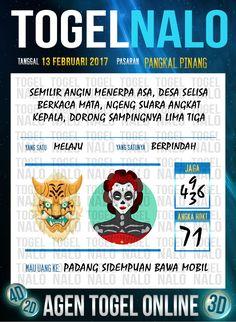 Tafsir Acak 2D Togel Wap Online Live Draw 4D TogelNalo Pangkal Pinang 13 Februari 2017