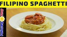 Filipino Style Spaghetti Recipe Canned Spaghetti Sauce, Spaghetti Squash Recipes, Frozen Cauliflower Recipes, Filipino Style Spaghetti, Fried Pork, Plant Based Eating, Pork Recipes, Stuffed Peppers, Ethnic Recipes