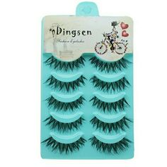 5 Pairs Natural Soft Black Eye Lashes Handmade Thi 5 Pairs Natural Soft Black Eye Lashes Handmade Thick.  See anything else you like in my closet!!! Jus  ask me and I'll make you a listing with a bundle discount.  Se habla espa?ol Makeup False Eyelashes
