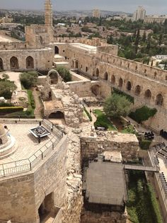 19. The Citadel (Tower of David) in the Old City of Jerusalem