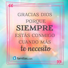Siempre te necesito Dios