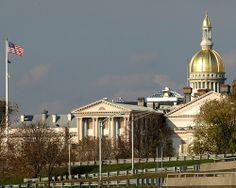 Trenton, NJ = State Capitol